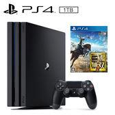 SONY PS4 PRO 1TB 主機 + 真‧三國無雙8《中文版》