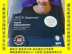 二手書博民逛書店ACCA罕見F8 Audit and Assurance: Study Text(外文)Y212829
