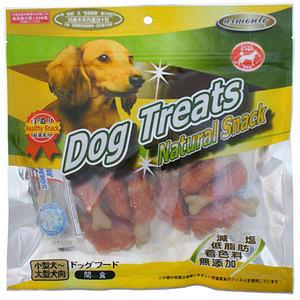 Dog Treats 潔牙系列 牛奶仿真骨雞肉棒 200G x 2包