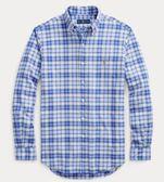 美國代購 Polo Ralph Lauren 四種顏色 格紋牛津襯衫 (XS~XXL) ㊣