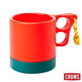 CHUMS 日本 露營野餐 保溫保冷馬克杯 紅/深綠 ( 250ml) CH621048A039