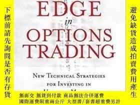 二手書博民逛書店The罕見Volatility Edge In Options Trading: New Technical St