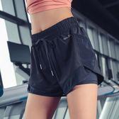 防走光運動短褲女寬鬆休閒瑜伽褲健身褲外穿學生跑步速干褲薄夏季