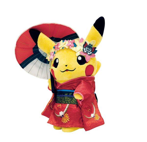 【小福部屋】日本 環遊世界 皮卡丘 (撐傘 舞妓) 神奇寶貝 生日新年禮物【新品上架】