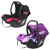 【奇買親子購物網】湯尼熊 Tony Bear嬰兒手提籃汽座(紅黑/紫)
