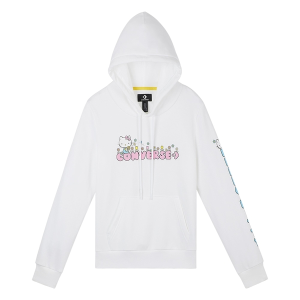Converse x Hello Kitty Floral Pullover Hoodie 聯名款-NO.10017645-A01