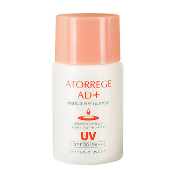 ATORREGE AD+輕透亮白防曬乳液35ml AD+ White Up UV Milk SPF30/PA++
