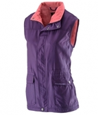 荒野Wildland品牌 防潑水防風中長保暖背心 (0A22703-79 深紫) 女