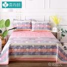 床单 老粗布床單單件純棉加厚單雙人被單三...