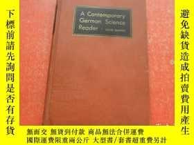 二手書博民逛書店A罕見CONTEMPORARY GERMAN SCIENCE R