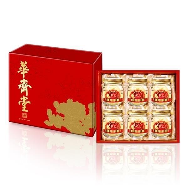 【南紡購物中心】【華齊生技】冰糖燕窩禮盒(75ml x6入)