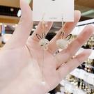 耳環 新款不對稱兔子耳環時尚氣質個性微鑲耳墜高級感長款流蘇耳飾 星河光年