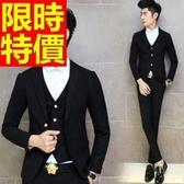 西裝外套 男西服(單外套)-隨意約會必備簡單精緻6色59t44[巴黎精品]