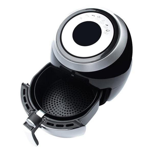 科帥110v空氣炸鍋家用5.5L多功能無油大容量電炸鍋智能觸摸薯條機