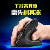 立式有線光電人體工學滑鼠