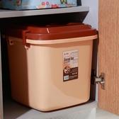 裝米桶儲米箱40 斤30 斤20 斤無縫密封防蟲防潮塑料米缸面粉箱儲糧桶ATF 錢夫人