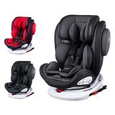 【贈腳靠汽車座椅保護墊】德國 Osann Swift360 isofix 0~12歲360度旋轉多功能汽車座椅
