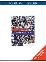 二手書博民逛書店 《The Basics of Social Research》 R2Y ISBN:0495102334│U