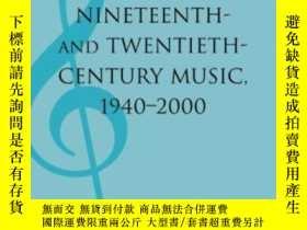 二手書博民逛書店Analyses罕見Of Nineteenth- And Twentieth-century Music, 194