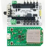 LINKIT 7697 加 Robot Shield 機器人馬達控制板