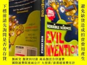 二手書博民逛書店evil罕見inventions 邪惡的發明Y200392