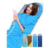 路特曼伸手睡袋成人戶外室內加厚防寒保暖雙人隔臟大人棉睡袋