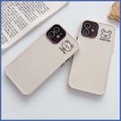蘋果 i12 Pro Max i11 Pro Max 12 mini XR XS MAX iX i8+ i7+ SE 小熊小鼠 實色殼 手機殼 保護殼