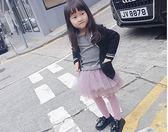 黑五好物節 很仙的女童紗裙半身裙2018春秋新款蓬蓬裙公主紗紗裙 小巨蛋之家