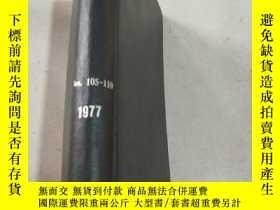 二手書博民逛書店NITROGEN罕見Nos 105-110 1977 氮.Y21