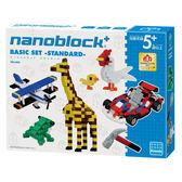 【日本KAWADA河田】Nanoblock迷你積木-BASIC SET 基本組 PBS-009