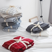 單件水洗床笠純棉床罩床套雙人床包防滑固定保護床墊【聚寶屋】