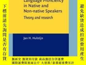 二手書博民逛書店Language罕見Proficiency In Native