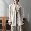 簡約時尚薄款西裝外套上衣【83-15-87972-21】ibella 艾貝拉