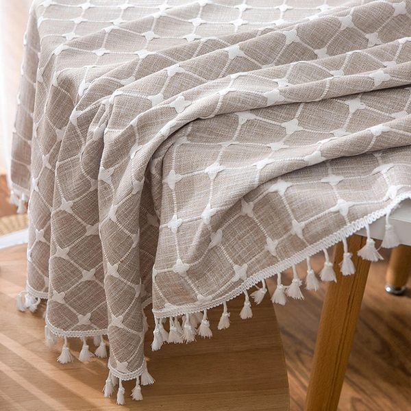 時尚可愛空間餐桌布 茶几布 隔熱墊 鍋墊 杯墊 餐桌巾 636 (直徑100cm)