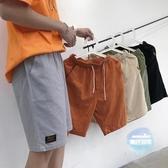 沙灘褲 ins短褲男夏季薄款潮流寬鬆五分褲夏天休閒中褲子海邊度假沙灘褲 5色