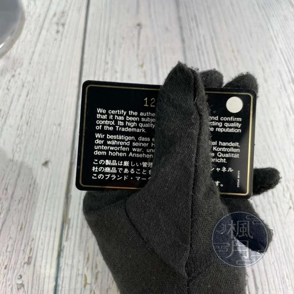 BRAND楓月 CHANEL 香奈兒 12開 黑色 經典LOGO 菱格紋 拉鍊 托特包 大容量 肩背包 外出