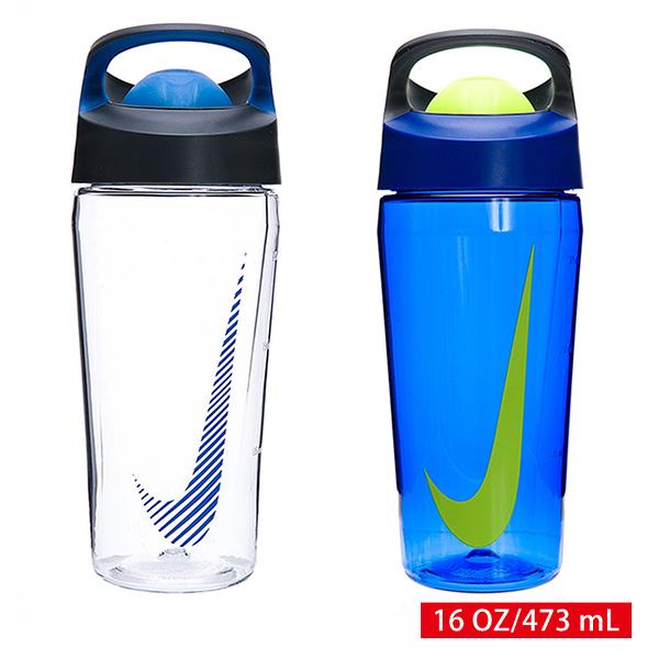 NIKE 運動水壺 冷水瓶 環保杯 ROCKER 推蓋式水壺 16 OZ/473 mL NOBE7 【樂買網】