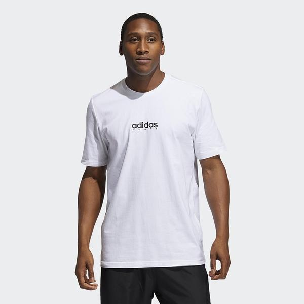 ADIDAS SWISH TEE 男款白色背圖短袖上衣-NO.GN5120