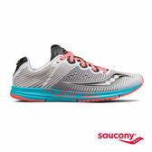 SAUCONY TYPE A8 專業競速鞋款-灰x藍x粉