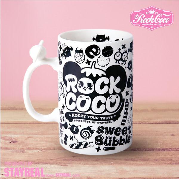 ROCKCOCO 甜蜜波波印刻馬克杯