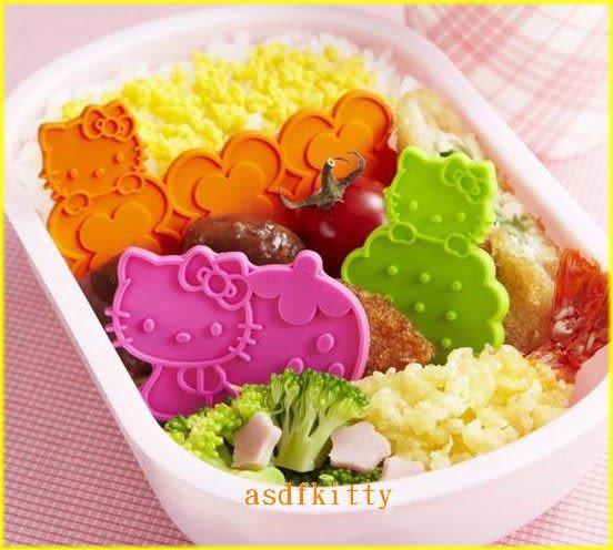 廚房【asdfkitty】KITTY矽膠隔菜板-可微波-裝飾便當-餐點-蛋糕-三明治-日本正版商品