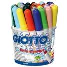 【義大利 Giotto】424900 超好洗 粗細雙效彩色筆 (12色36支)