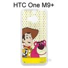 迪士尼透明軟殼 [點點] 胡迪&熊抱哥 HTC One M9+ (M9 Plus)【Disney正版授權】