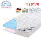 德國 Julius Zoellner Dr.Lubbe Air Comfort 嬰兒床墊120x70cm -送 澳洲NVEY嬰兒沐浴乳250ml+天絲床包x1