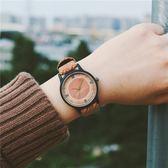 店慶優惠-復古手錶女錶學生韓版簡約防水皮革錶