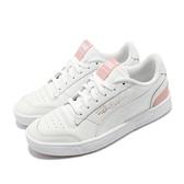 Puma 休閒鞋 Ralph Sampson 白 粉紅 女鞋 運動鞋 皮革 【PUMP306】 37084606