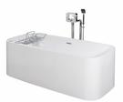 【麗室衛浴】英國ICI  KERAMI獨立缸 170*75*58cm   BAK03-003