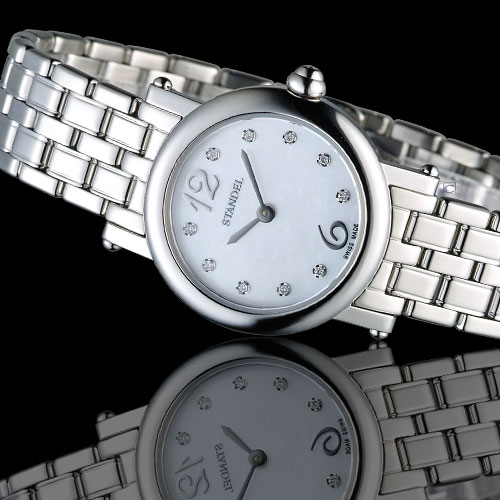 Standel Luxury 詩丹麗 60週年紀念款 頂級真鑽系列 6S1604-121S-WM