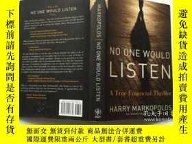 二手書博民逛書店No罕見One Would Listen: A True Fin