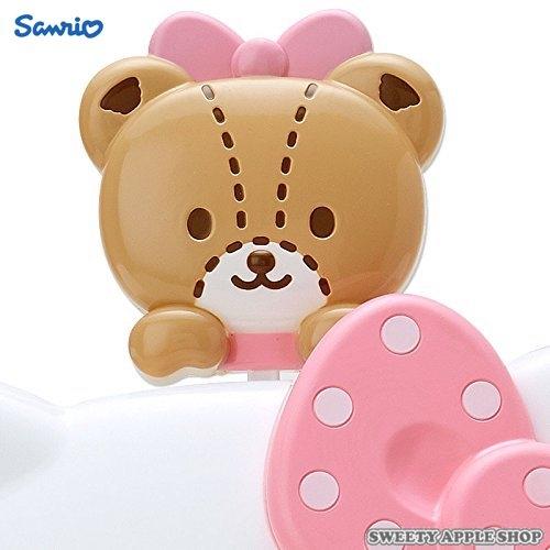日本限定 HELLO KITTY 泰迪小熊 可愛造型 壁掛 掛鐘 / 時鐘